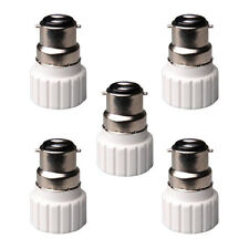 B22 to GU10 Lamp Light Bulb Base Socket Converter Adaptor 5 pack F1 B4M7