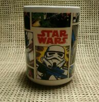 Star Wars Comic Print Coffee Mug by Galerie!   Darth Vader, Yoda, Stormtrooper