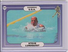 RARE 1992/93 ICCOA STEVE LUNDQUIST CARD #16C ~ SWIMMING ~ OLYMPICS ~ ATHLETES