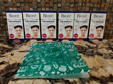 Biore Ultra Deep Cleansing Nose Pore Strips Hypoallergenic, 6 count