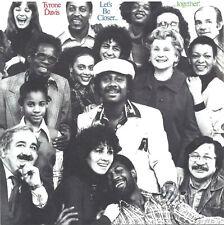 Tyrone Davis – Let's Be Closer... Together   new cd in seal    incl bonustracks
