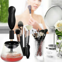 Professional Electric Makeup Brush Cleaner and Dryer Machine, Cleans and Dries