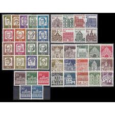 BRD Bund Dauerserien 1961-1966 postfrisch **