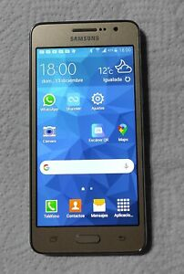 Samsung Galaxy Grand Prime Color Dorado  +  Funda + Cargador