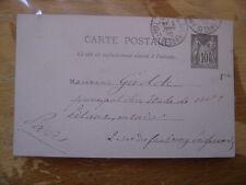 Carte Postale Cachet TRIBUNAL DE COMMERCE Gadde Etude Pitaux Notaire Paris