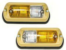 Blinker Blinkleuchten Satz Lens Standlicht links und rechts Jeep CJ 72-86