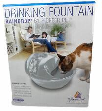 Pioneer Pet Ceramic Raindrop Pet drinking Fountain