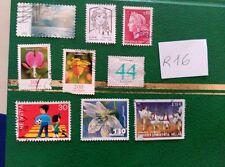 sellos paises europeos inglaterra  palacios y monumentos flores infantil