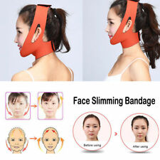 Women's 1pc Facial Care Thin Face Mask Slimming Bandage Belt Reduce Double Chin