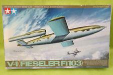 Tamiya 1:48 scale V-1 Fieseler Fi 103 (sealed parts bags)