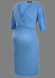 Mama Licious Umstandsmode Kleid Größe XL Neu  blau