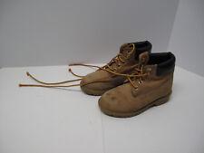 "Timberland 6"" Premium Waterproof Boots Leather Little Kids Size 13"