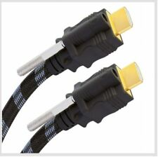 Real Cable Innovation HD 2Lock HDMI 0,75 m NEU 3D 4K ARC 523501 UVP war € 79,90