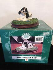 "Flambro Sportsman Collection ""Scratch Golf� Dog Figurine"