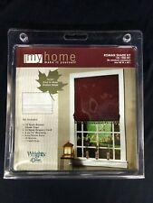 """New Wrights Roman Shade Kit Fits Window 48""""W X 60"""" L 1451008001"""