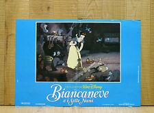 BIANCANEVE E I SETTE NANI fotobusta poster affiche Walt Disney Seven Dwarfs AM32