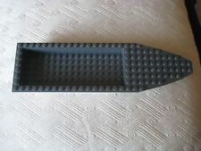 "Lego ~ Speed Boat ~ 9"" long White with Dark Bluish Gray Top"