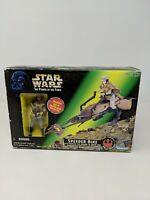 Star Wars Power of the Force Speeder Bike Princess Leia in Endor Gear