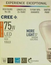 CREE LED Soft White 2700K R20 Uses only 13 Watts Floodlight Dimmable 980 Lumens