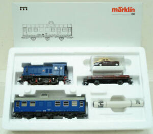 Marklin 28502 Royal Corps of Transportation HO Gauge Diesel Train Set LN/Box