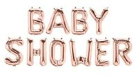 """16"""" Baby Shower Girl Blue Party & Decoration Balloon Banner Kit Air Fill Only"""
