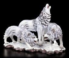 Shadow Wolf Figur - Das Rudel - Fantasy Wölfe Hunde Deko Statue