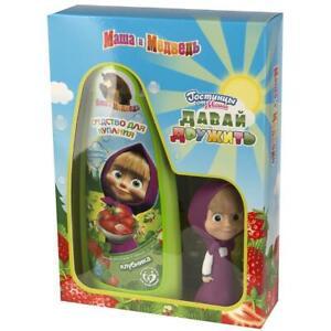 Masha And The Bear Bubble Bath Time Gift Set Russian
