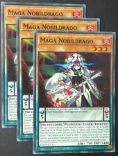 Set 3X MAGA NOBILDRAGO   LEDD-ITC11 Pendulum Comune Italiano YUGIOH