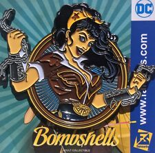 DC Comics Bombshell Wonder Woman Badge Collectors Pin Justice League Licensed