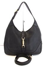 Authentic Vintage GUCCI Jackie O Hobo Cross Body Shoulder Bag Handbag Purse