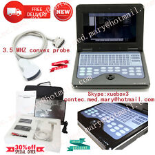 Promotion! Full Digital Portable Ultrasound Scanner Machine With 3.5MHZ Probe,CE