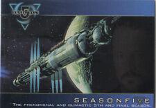 BABYLON 5 SEASON 5 PROMO CARD