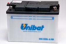 BATTERIA MOTO UNIBAT 35AH 12V C60N35LAHD = C60-N35L-A/HD PER MOTO E SCOOTER
