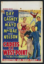 The West Point Story (1950) James Cagney movie poster print
