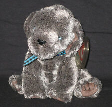 TY FRISBEE the  DOG BEANIE BABY - MINT with TAG - SEE PICS