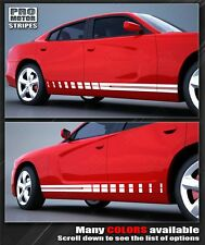 Dodge Charger 2014 2015 Rocker Panel Strobe Side Stripes 2011 2012 2013 Decals