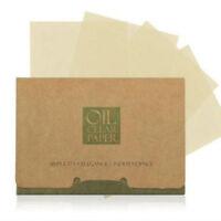 NE_ 100Pcs Facial Oil Control Absorbing Film Sheets Blotting Paper Face Cleaner
