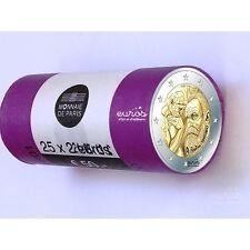 Rouleau 25 x 2 euros FRANCE 2017 - 100ème anniversaire de la mort Auguste Rodin