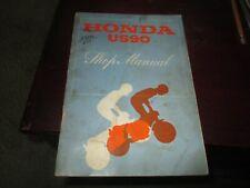 Factory Original Honda Us90 Atc Atv Motorcycle Shop Manual Three Wheeler