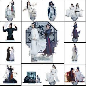 Acrylic Standing Figure The Untamed Scene Yaoi Figure Display Double Sided 18cm