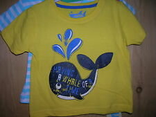 2 T-Shirts for Boy 12-18 months