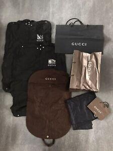 Gucci Konvolut Kleidersack Gr. S M L XL XXL 36 38 40 42 Herren Damen für Jacke