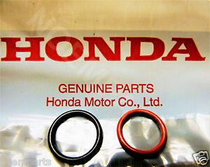 GENUINE Honda Power Steering Pump Inlet & Outlet O-Ring Seals - 2 Pc Kit - OEM
