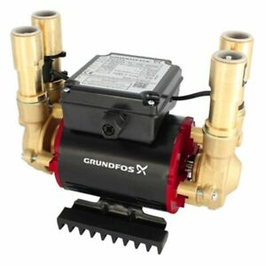 Grundfos Amazon 1.5 Bar Twin Positive Heavy Duty Shower Pump STP-1.5 B  96757446