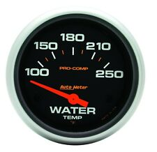 Autometer 5437 Pro-Comp Water Temp Gauge, 2-5/8 in., Electrical