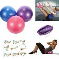 25cm Pilates Yoga Ball Übungsball Yogaball Therapieball Fitness Gymnastikball