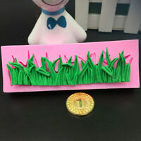 Gras Geformte Silikon Kuchen Form Fondant Mould Kuchen be Backen Mold Dekor K6F8