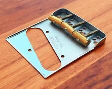 Fender Telecaster Dbl.Long Notched Bridge -w/Custom Comp.Saddles for Am.Standard