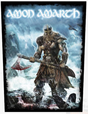 AMON AMARTH - VIKING - BACK PATCH - BRAND NEW - MUSIC BAND 1044