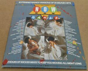 "Various Artists: Now Dance The 12"" Mixes 2 x LP's Extended Dance Versions 1985"